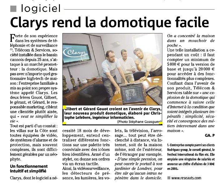 Ts technologies communications et domotique - La maison de la domotique ...
